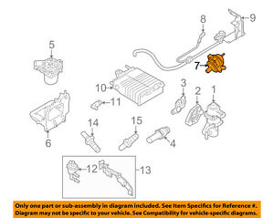 Details about FORD OEM 08-11 Focus A I R  System-Check Valve 6S4Z9F491A