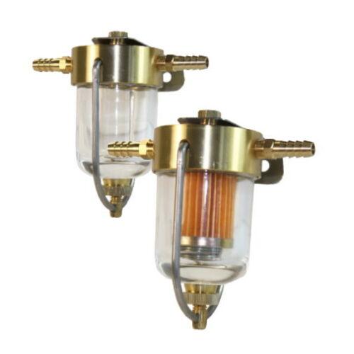 Schauglas f Wasserabscheider Benzinfilter Trennfilter Kraftstofffilter m Boote