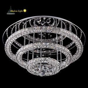 d65cm led dimmbar kristall h ngeleuchte kronleuchter pendelleuchte deckenleuchte ebay. Black Bedroom Furniture Sets. Home Design Ideas