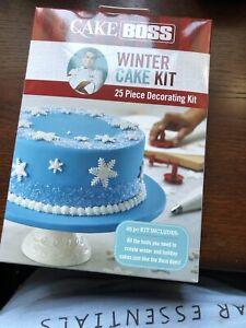 Cake-Boss-Winter-Cake-25-Piece-Decorating-Kit-NEW-Sealed