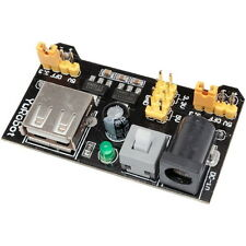Modulo Alimentatore per Breadboard Arduino MB102 DC-DC 3,3V-5V Power Port Supply