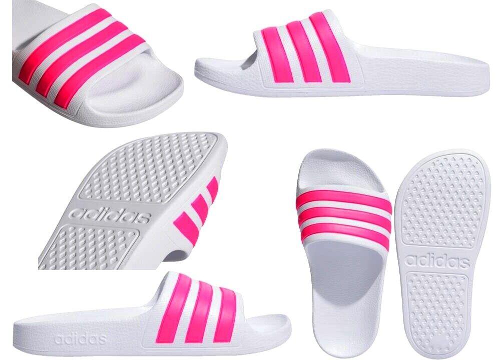 Sandales De Femme adidas Adilette Aqua EF1748 Chaussures Piscine Mer Douche