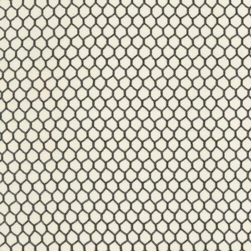 Timeless Treasures Animals C6531 Cream Chicken Wire Cotton Fabric