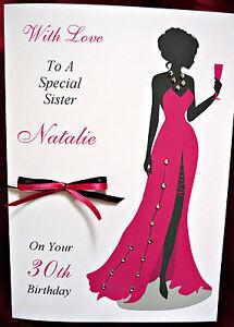 Personalised-Handmade-Birthday-Card-Dress-18th-21st-25th-30th-40th-1554PR
