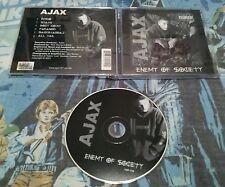 AJAX - Enemy of Society (CD 2001) Nu Gold records DETROIT UNDERGROUND RAP