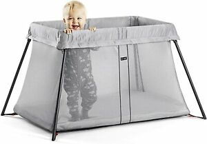 BabyBjorn-Mesh-0-3-Travel-Cot-Light-Silver-Grey-A