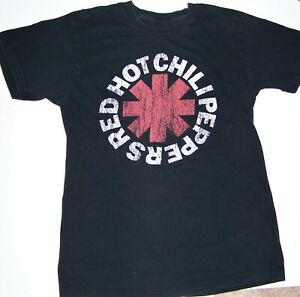 Red-Hot-Chili-Peppers-T-shirt-2009-Rock-Band-Tee-Bravado-Black-Mens-Sz-M