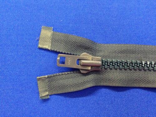 "ZIP open end YKK Navy 45cm 18 /"" 8 peso dispositivo di scorrimento in Metallo Pesante Heavy Duty"