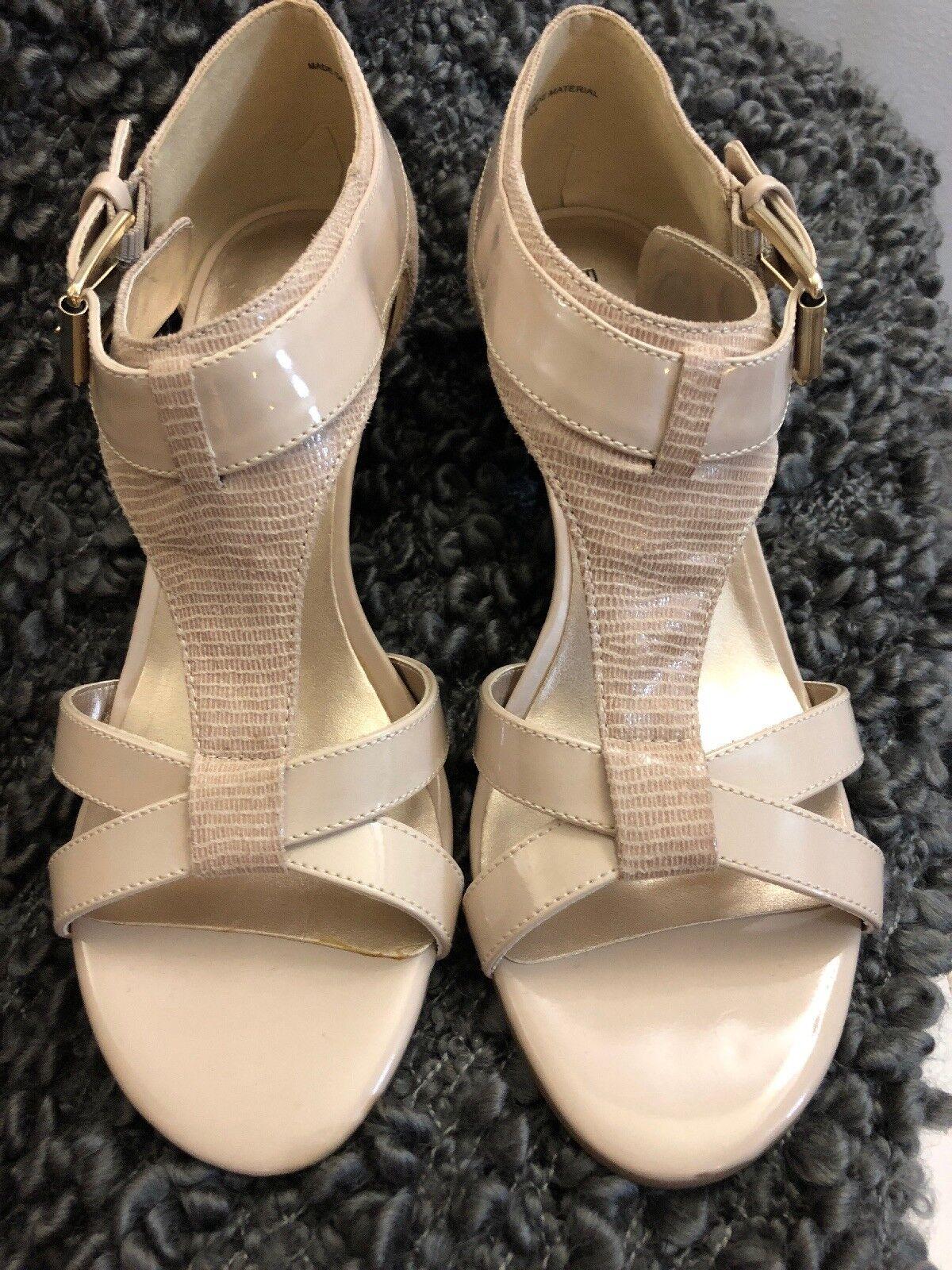 Men/Women Sales Bandolino Beige Sandals - Size 6M Fashion pattern Sales Men/Women Italy Seasonal hot sale 164511