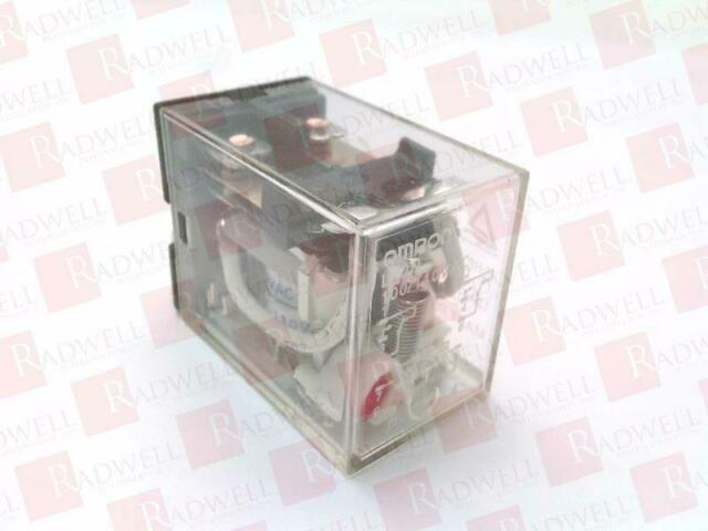 PLUG IN 10A OMRON INDUSTRIAL AUTOMATION LY2N-AC100//110 POWER RELAY 110VAC DPDT