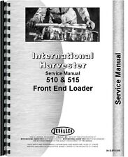 ih international 510 515 loader parts service manual chassis only ebay rh ebay com International 510 Loader for Tractor International 510 Loader Weight