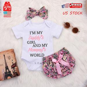 Newborn-Baby-Girls-Romper-Tops-Jumpsuit-Tutu-Pants-Headband-Outfits-Clothes-Set