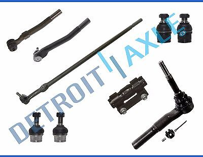 Drag Link Tie Rod Sleeve Ball Joints 13pc Kit for F250 Super Duty 4 Wheel Drive