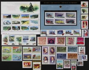 CANADA-Postage-Stamps-1993-Complete-Year-set-collection-Mint-NH-See-scans