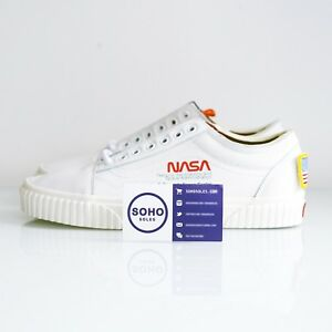 de59e740a81 NASA x Vans Old Skool Space Voyager True White VN0A38G1UP9 Size 7-13 ...