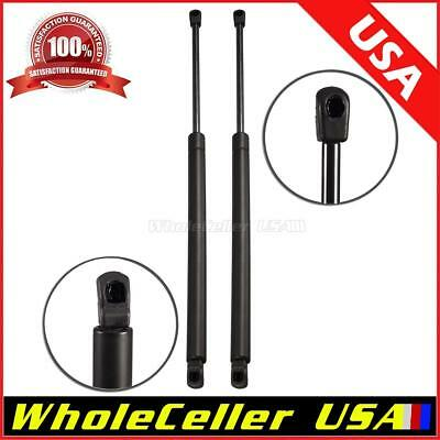 Pair 2 Rear Window Gas Charged Lift Support Shocks Strut For 97-99 Infiniti QX4