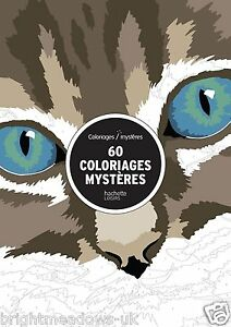 Colour By Numbers French Mystery Adult Colouring Book Creative Art