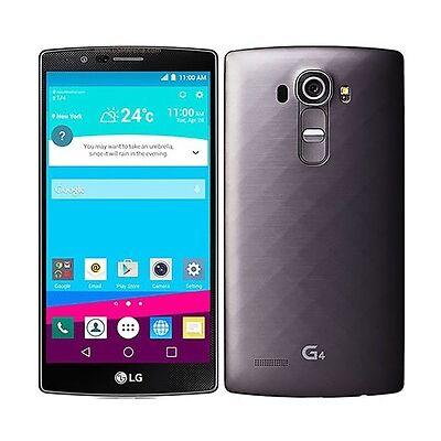 LG G4 H810 - 32GB - Metallic Gray (AT&T Unlocked) 4G LTE GSM Smartphone - RB