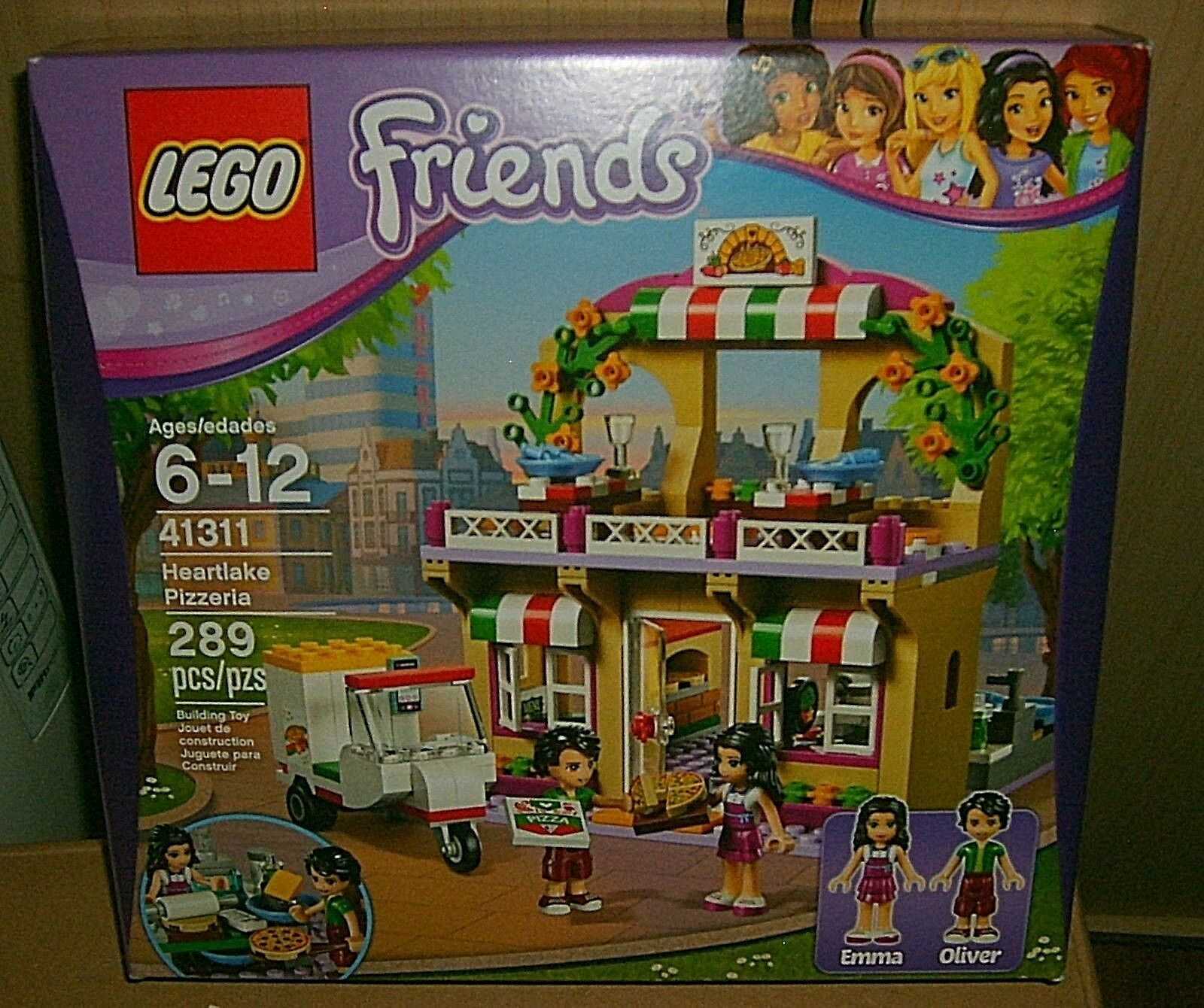 Lego Friends Heartlake Pizzeria Pcs Nqzlbg5416 Lego Complete Sets