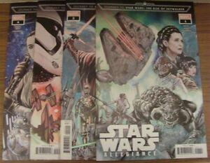 Star Wars Journey The Rise Of Skywalker Allegiance 1 4 Marvel Comic Set 2019 Nm Ebay