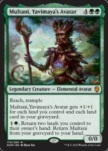 Multani-Yavimaya-039-s-Avatar-Foil-x1-Magic-the-Gathering-1x-Dominaria-mtg-card