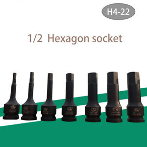 1X-1-2-034-Impact-Int-HEX-Bit-Socket-Set-4-5-6-7-8-10-11-12-13-14-15-17-18-19-22mm