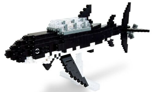 Kawada Nanoblock TIN-03 Tintin Shark Submarine 900pcs