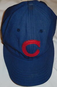 4c44c73ac6d Image is loading vintage-Chicago-Cubs-Baseball-MLB-Hat-Cap-Adjustable-