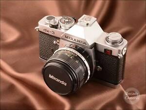 Miranda DX-3 35mm Film Camera with 50mm f1.8 lens  - 1354