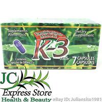 K-3 Dietary Supplement K3 Presentation 7 Capsules Naturist M.r.c.g.