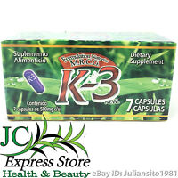 K-3 Dietary Supplement K3 Presentation 7 Capsules Naturist M.r.c.g.