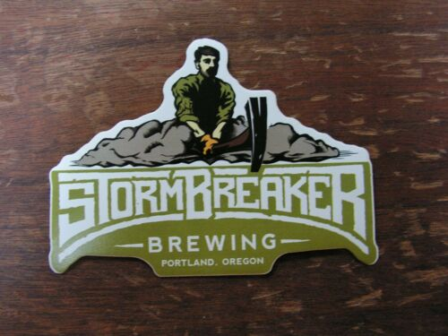 Storm Breaker Brewing Co Sticker ~NEW Craft Beer Brewery Brew Logo Decal~