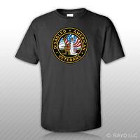 Dav American Disabled Veterans Seal T-shirt Tee Shirt Army Navy Marines