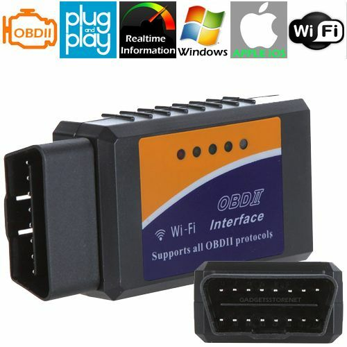 OBD II 2 IPAD IPHONE ANDROID WIFI CAR CODE SCANNER READER SCAN TOOL FOR MERCEDES