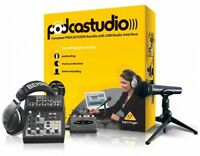 Podcast Studio Kit, Audio Recording Music Equipment Usb Pc Accessories on sale
