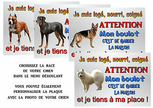 plaque-chien-metal-29x20-cm-percee-aux-4-coins-differentes-races-ref-51