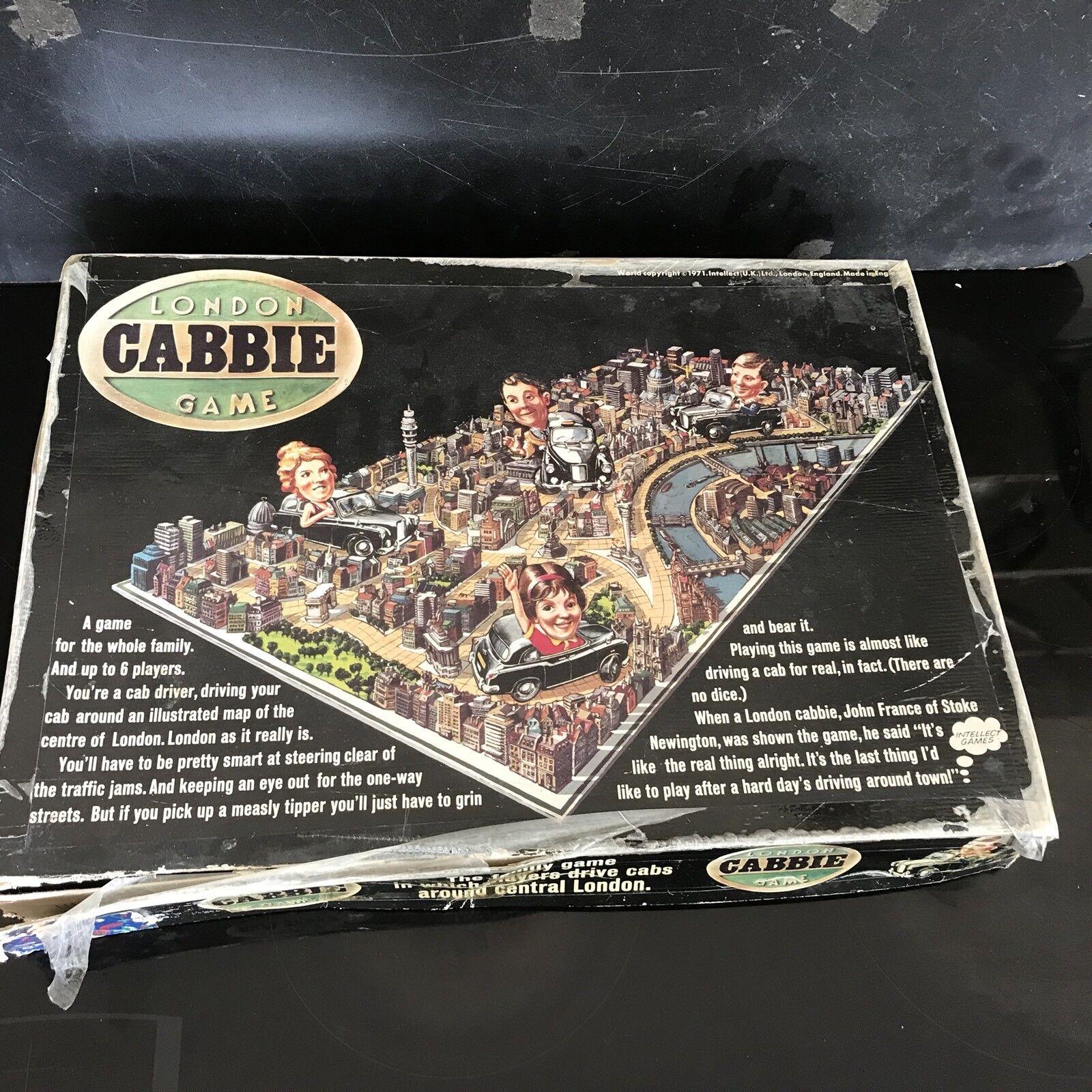 Vintage Intellect LONDON TAXI jeu