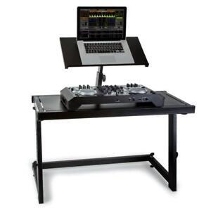 2-ETAGEN-DJ-STAND-PULT-MIXER-DECK-CONTROLLER-LAPTOP-STANDER-MOBILE-DISCO
