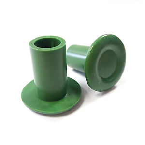 50 X Large Rubber Bamboo Cane Caps Stake Toppers