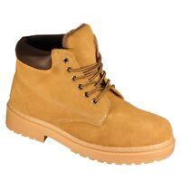 Leder Winter Stiefel Winterschuhe Trekking Schuhe Outdoor Boots Z21 Camel