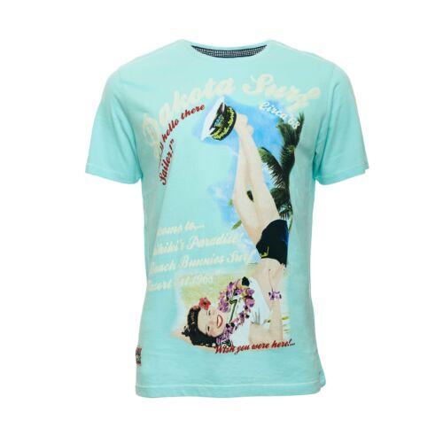 Men's Tokyo Laundry 'Dakota Surf' Crew Neck T Shirt with Smooth Soft Finish