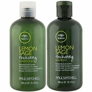 Paul-Mitchell-Tea-Tree-Lemon-Sage-Thickening-Shampoo-amp-Conditioner-10-14-Oz-Each