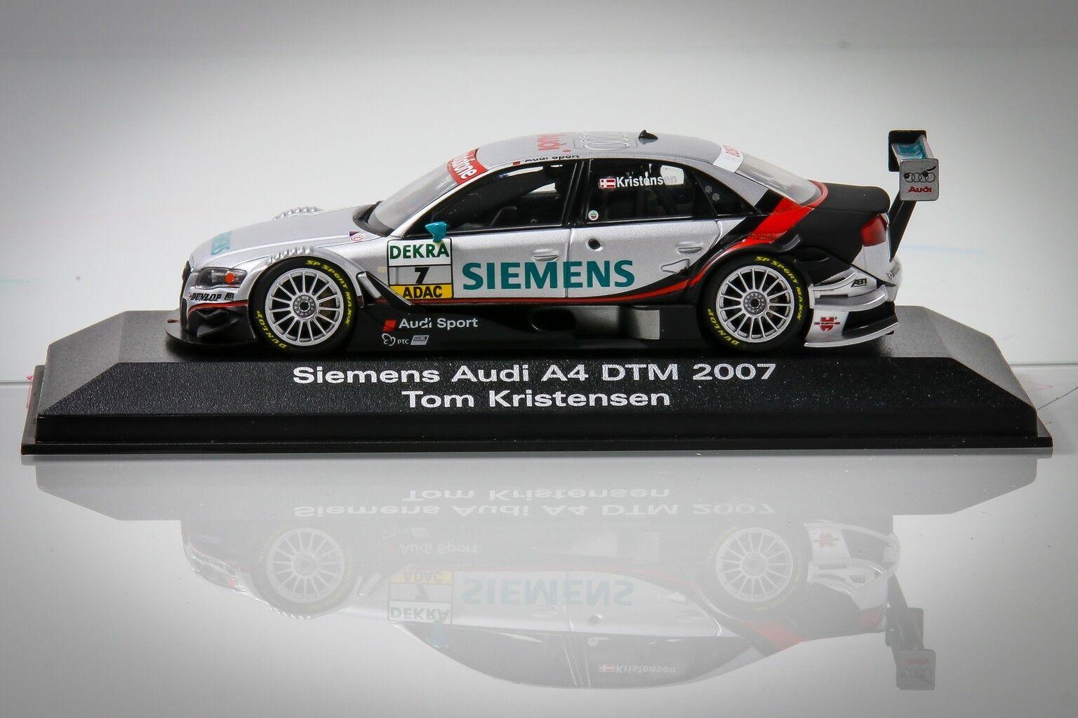 Minichamps 400071707 Audi A4 DTM DTM DTM 2007 Siemens   7 Kristensen, 1 43 20b231
