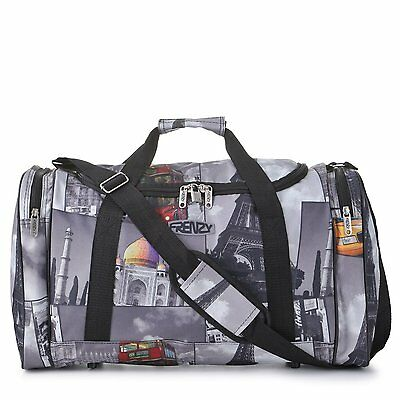 Carry On Cabin Hand Luggage Holdall Gym Sports Duffel Flight Bag Ryanair Easyjet