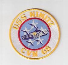 JACKET PATCH-UNITED STATES NAVY - USS NIMITZ