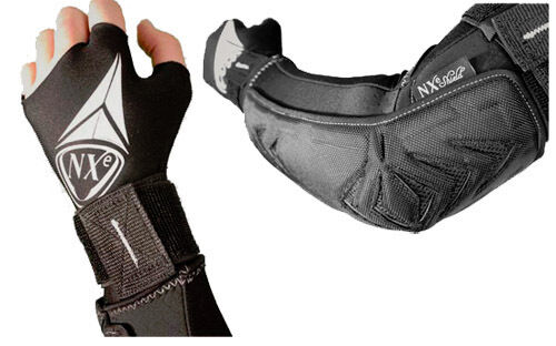 Neue NXe Techno-Flex Paintball Elbow Pads