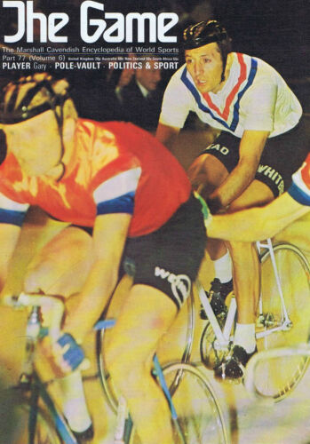 HUGH PORTER CYCLIST GARY PLAYER The Game no. 77