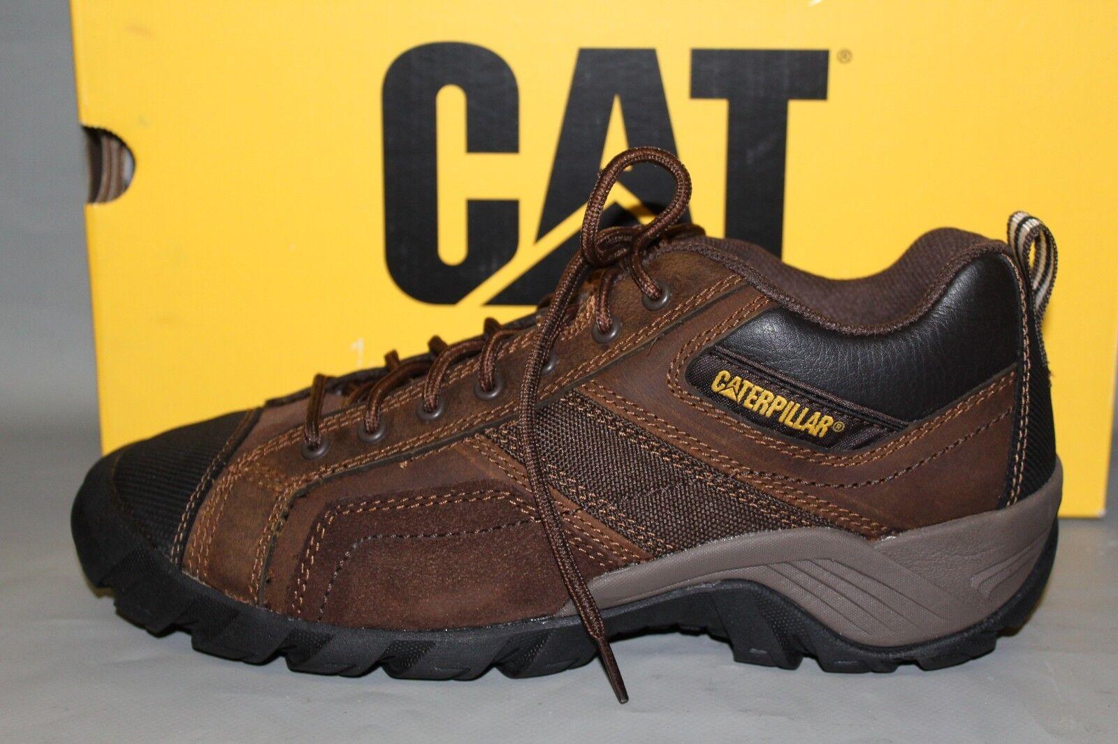 Para hombres Gato argón  P73706, Tamaño Mediano 9 Cuero Calzado De Trabajo Antideslizante