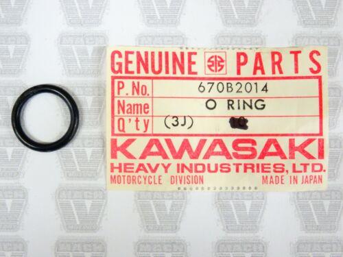 Kawasaki NOS NEW 670B2014 O Ring 14mm W1 W2 EN ER EX JB JF JH JS KAF KLX VN ZX