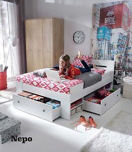 bett funktionsbett bettanlage mit bettk sten. Black Bedroom Furniture Sets. Home Design Ideas